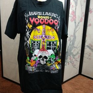Marie laveau's House of voodoo New Orleans t-shirt